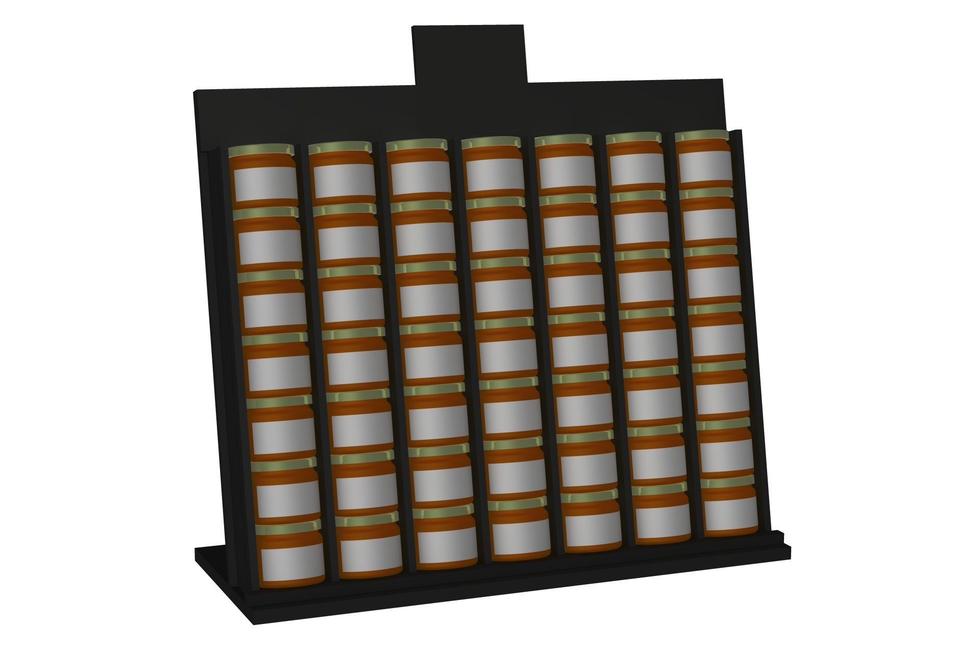 Toonbankdisplays volledig op maat gemaakt Buyck Displays