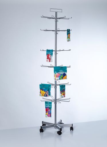 PW085 - Buyck Displays - Turning stand with hooks