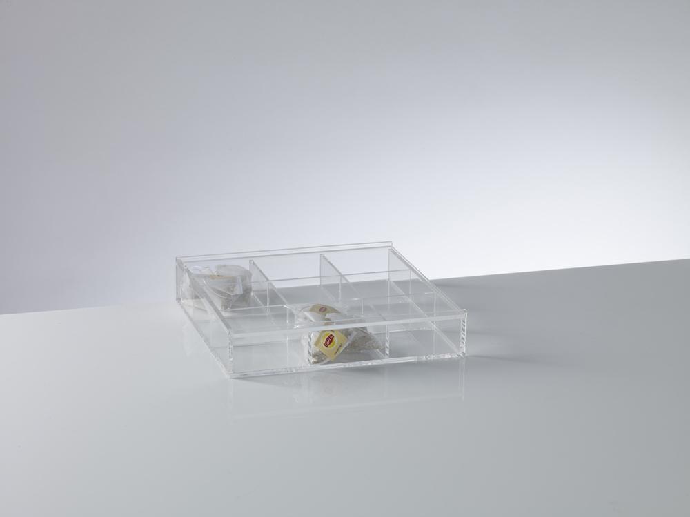 MAN1607-Buyck Displays-PLEXIGLAS DOOS MET DEKSEL